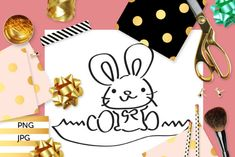 Easter Bunny Coloring (Graphic) by Revidevi · Creative Fabrica Easter Bunny Colouring, Bunny Coloring Pages, Digital Stamps, Making Ideas, Craft Projects, How To Draw Hands, Card Making, Clip Art, Gift Cards
