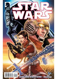 'Star Wars #1 - In The Shadow of Yavin' variant cover available through Hastings