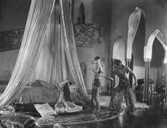 Douglas Fairbanks, Julanne Johnston, and Anna May Wong in The Thief of Bagdad (1924)