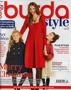 Burda-2014-December Review Easy Sewing Patterns, Dress Patterns, Free Pattern, Pattern Design, Art Deco Fabric, Designing Women, Diy Clothes, Different Styles, Parisian