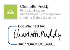 Choosing the right Landlord Software - Why Abode is using Docusign