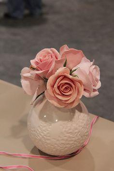 Martha Stewart's Crafter's Clay flowers.