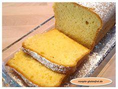 Glutenfreier Zitronenkuchen! Zarter Rührteig mit erfrischendem Zitronenaroma! www.rezepte-glutenfrei.de #sweetmasterpieces #glutenfrei