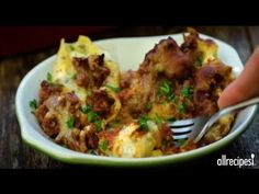 Main Dish Recipes - How to Make Lasagna Stuffed Shells - YouTube