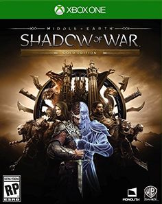 MiddleEarth Shadow Of War Gold Edition  Xbox One >>> You can find out more details at the link of the image.Note:It is affiliate link to Amazon.