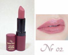 Katosu - Extra: * Przegląd pomadek Velvet Matte - Golden Rose (10,90 zł !)- zdjęcia i opinia *