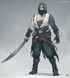 ArtStation - Ghost of Persia, Gleb Konovalov Dungeons And Dragons Characters, Dnd Characters, Fantasy Characters, Character Concept, Character Art, Concept Art, Character Design, All Out Anime, Prince Of Persia