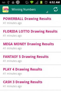 ca lotto results powerball