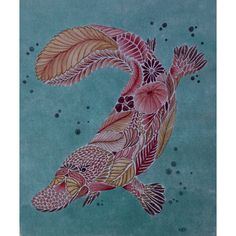 My Coloring Millie Marotta CuriousPlatypus Curious Creatures Platypus