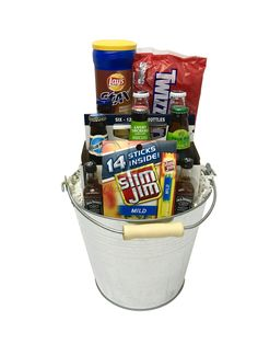 Beer gift basket do it yourself pinterest beer gifts gift and gift hampers the variety beer bucket is available for same day delivery in las vegas nv solutioingenieria Images