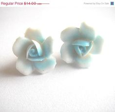 ON SALE Vintage porcalin ceramic white and baby by bunnyboutique, $11.20