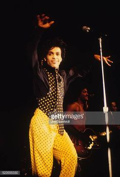 Prince performs at First Avenue nightclub in Minneapolis Minnesota in 1987