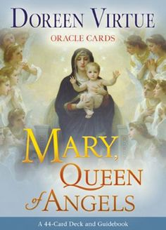Mary, Queen of Angels Oracle Cards by Doreen Virtue http://smile.amazon.com/dp/1401928781/ref=cm_sw_r_pi_dp_oNjOub1FN349Y