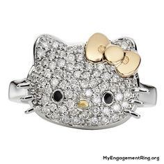 hello kitty engagement ring - My Engagement Ring