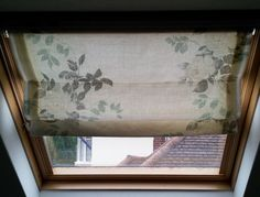 Over the last few days I have been busy making some Roman Blinds for my Velux windows – I thought it would be good to share this with you as I have yet to find a similar idea on the web. To m…