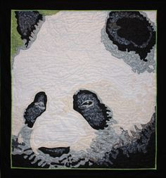 Rob Appell Designs - Endangered Species Quilt Project - Panda Bear