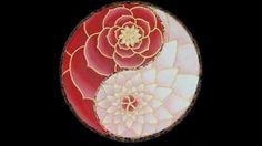 Yin and Yang floral