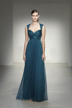so excited to have this new Amsale bridesmaid dress...it has a keyhole back!