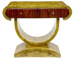 Art-Deco-Console-Table-Chest-Drawers-Interiors-Furniture