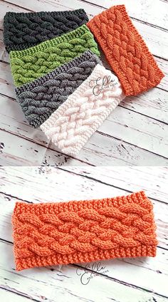 Woven Cable Headband - Free Pattern - Knitting for beginners,Knitting patterns,Knitting projects,Knitting cowl,Knitting blanket Crochet Amigurumi, Knit Or Crochet, Crochet Crafts, Free Crochet, Crochet Cable, Crochet Stitch, Loom Knitting, Knitting Patterns Free, Knit Patterns