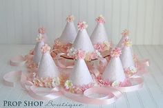 pretty party hats