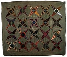 Kaleidoscope by Mary Rosenbaum.  Virginia, 1895. Looks crazy contemporary.. ...~♥~