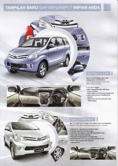 Harga Grand New Avanza Semarang All Camry 2018 52 Best Images Toyota Corolla Dx Minivan Brosur