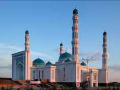 Karanganda regional mosque is one of the largest mosque in Kazakhstan with a capacity of 4,000 worshippers