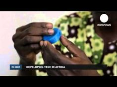 African inventor makes 3D printer from scrap. Watch the whole video for some inspiring tech stories from Africa.