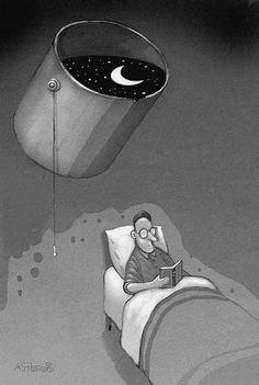 Que a lua te banhe de lindos sonhos.