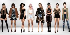 Tumblr Style Lookbook 1. Hat [xx] // Necklace... - Immortalsims
