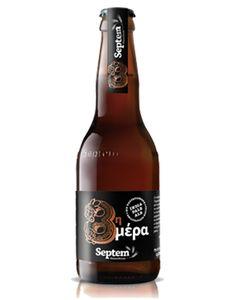 8th Day IPA - 7 vol% - 65 IBU - Septem Microbrewery Brewery, Beer Bottle, Coffee Shop, Ale, Bottles, Greek, Canning, Coffee Shops, Coffeehouse