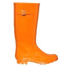 Orange Wellington Boot Preview