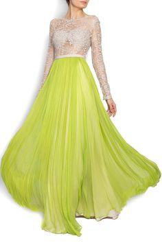 #silk #dress could be a glamorous #weddingdress in white Nicole Enea | Rochie cu spatele gol din muselina de matase si dantela | WE LOVE COUTURE