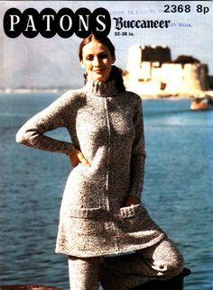 397075115 2368 Patons Knitting Pattern Lady s Jacket Vintage Knitting