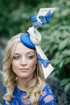 Photo from Philippa Brooks Millinery collection .bespoke hats for the races