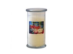 Cottage Country Apothecary Jar: The sweet welcoming aroma of vanilla mixed with a light cedar fragrance. Welcome back to the Cottage! Apothecary Jars, Vanilla, Fragrance, Cottage, Candles, Canning, Country, Sweet, Casa De Campo