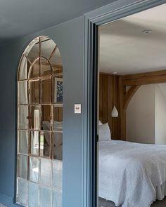 Lazy Saturday mornings... . Photo: Jeremy Phillips . #crittalwindows #interiorwindows #bedroomdecor #saturday