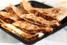 Кесадилья с мясом (кесадия)