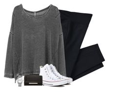 """""""shopping ootd"""" by i-am-bryana ❤ liked on Polyvore featuring NIKE, Free People, Converse, Calvin Klein and Steve Madden"""