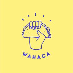 restaurant logo From start-up to chain: rebranding Wahaca Logo Restaurant, Logo Pizzeria, Food Logo Design, Logo Food, Identity Design, Food Brand Logos, Best Logo Design, Menu Design, Logo Mexicano