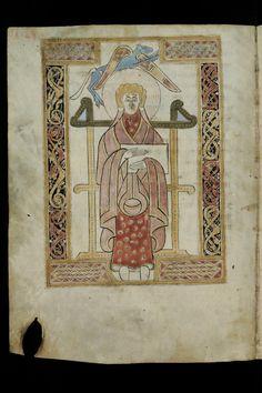 St. Gallen, Stiftsbibliothek, Cod. Sang. 51, p. 128 – Irish Evangelary from St. Gall (Quatuor evangelia) (http://www.e-codices.unifr.ch/en/list/one/csg/0051)