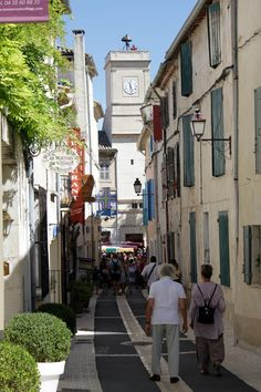 St Remy de Provence, has a wonderful market on Wednesdays, also home to Van Gogh's asylum where he painted many famous works of art. Visited 8/2011