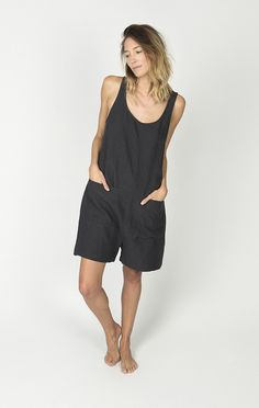 Ilana Kohn + Oversized fit + 100% washed, pre-shrunk linen + Made in NYC