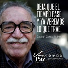 Reposting @viveenpazorg: Paz y amor siempre! Compartir es vivir  Vive en Paz y sé Feliz, el Amor es tu esencia!  #frases #reflexiones #motivacion #LifeCoach #Tiempo #Respuesta #Gabo