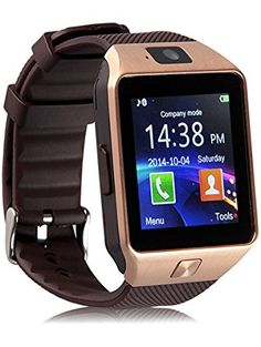 Padgene DZ09 Bluetooth Smart Watch with Camera ❤ Padgene