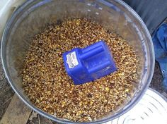 Make your own chicken feed