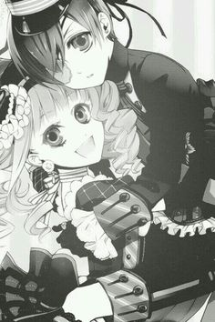 Ciel and lizzy well they are good together
