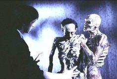 Check out these rare set pics from Hellraiser that Clive Barker posted to Facebook. [horror movies]