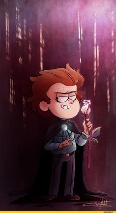 Okay, I actually like this Reverse Pines art. Gravity Falls